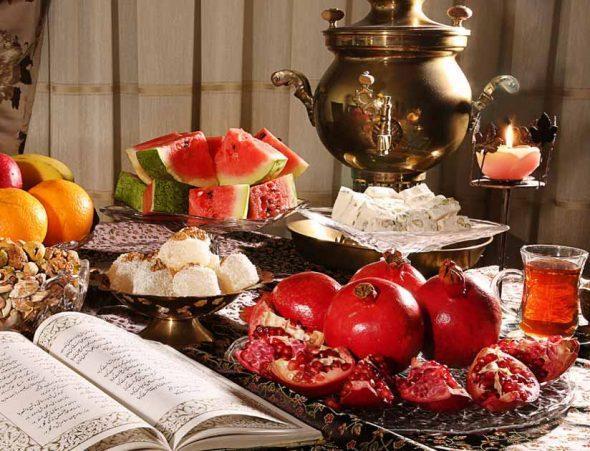 برگزاری جشن شب یلدا در 12 نقطه از استان اردبیل