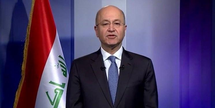 برهم صالح خواهان توقف فوری عملیات ترکیه در سوریه شد