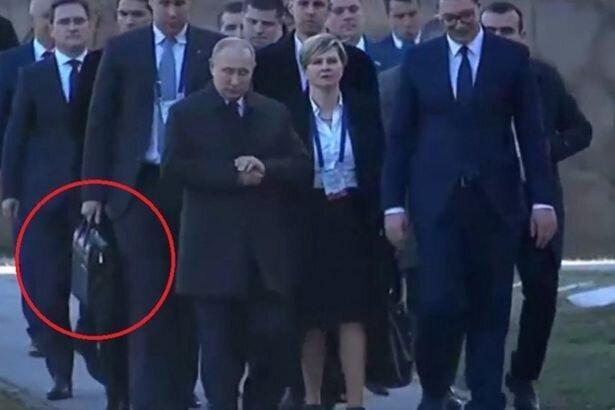 کیف سرّی پوتین می تواند قیامت هسته ای به پا کند، عکس