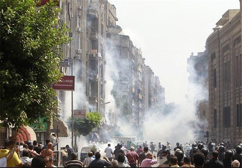 حمله طرفدران مرسی به ساختمان استانداری اسکندریه