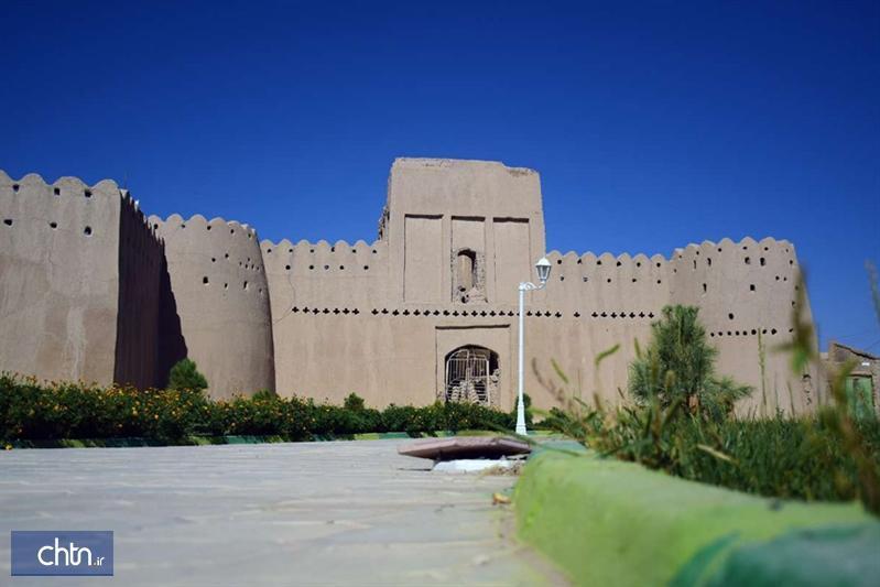 انتها مرمت قلعه حیدرآباد خاش