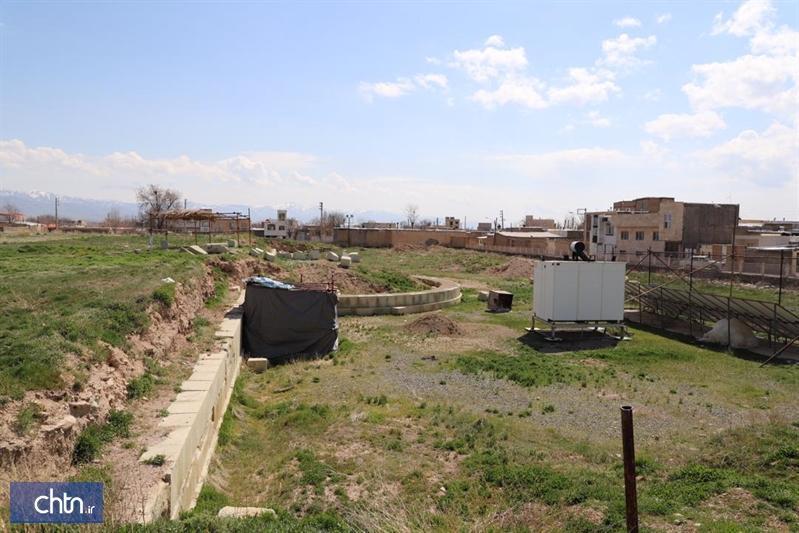 شروع مرمت ضلع جنوبی محوطه تاریخی گنبد سلطانیه