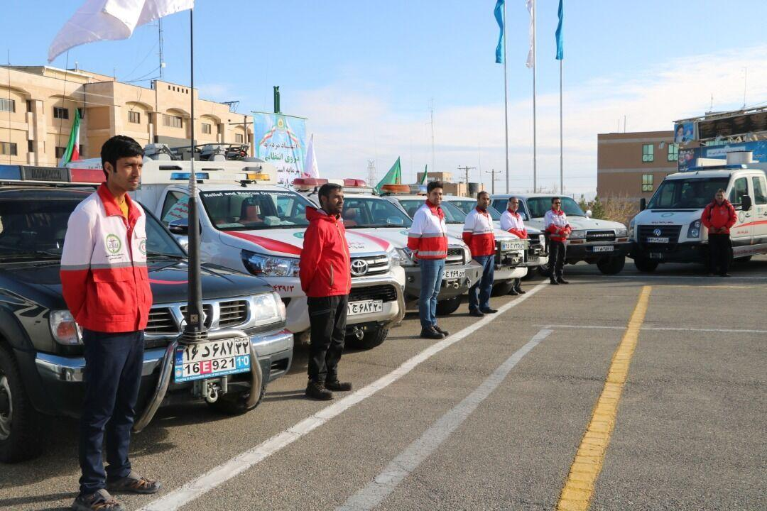خبرنگاران آماده باش 109 تیم امدادی و عملیاتی در خراسان جنوبی