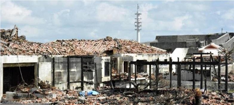 دولت ژاپن قلعه سوخته اوکیناوا را تا سال 2026 بازسازی می نماید