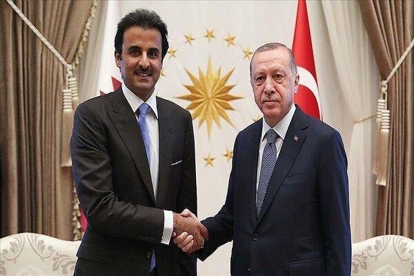 اردوغان برای ملاقات با امیر قطر به دوحه می رود