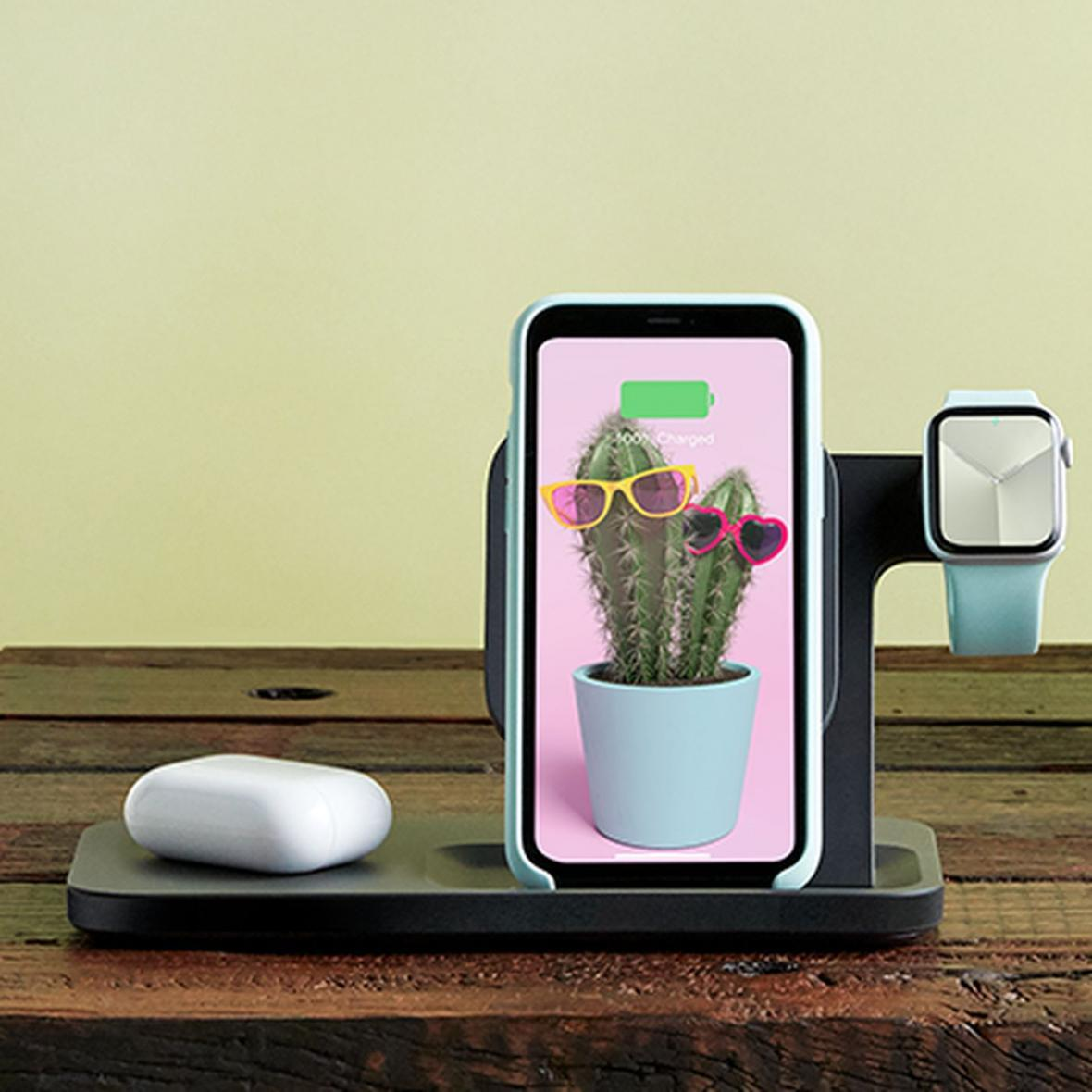3 دستگاه هوشمند را همزمان شارژ کنید