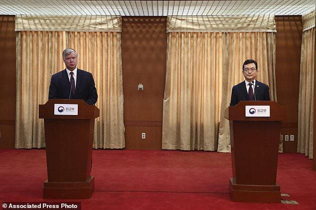 نماینده آمریکا در کره شمالی با مقامات کره جنوبی ملاقات کرد
