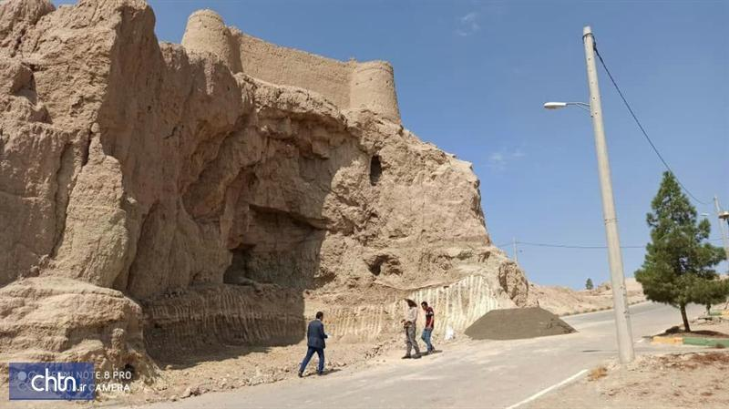 شروع عملیات بازسازی و استحکام بخشی قلعه رستم