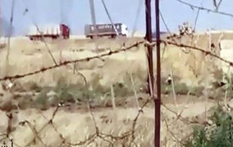 انتقال 65 خودرو حامل تجهیزات نظامی و لجستیک آمریکا از عراق به الحسکه
