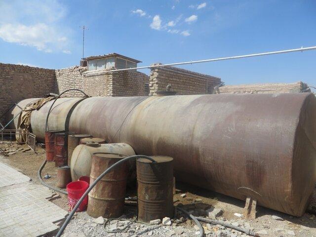 کشف 39 هزار لیتر نفت قاچاق در سراوان