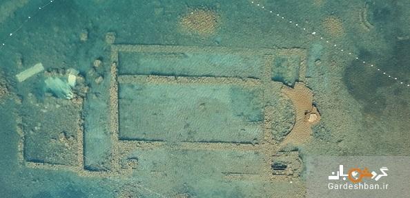 کلیسای باستانی 1600 ساله در زیر آب و در سواحل دریاچه ایزنیک، عکس