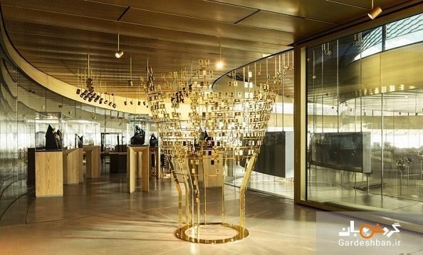 موزه ای که مثل مار به دور خود پیچیده است!