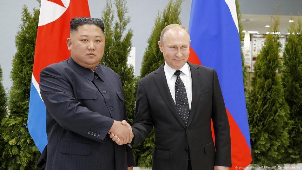 پوتین به کیم جونگ اون تبریک گفت