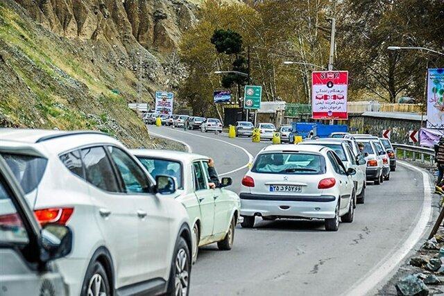 ترافیک نیمه سنگین در بخش هایی از محورهای شمال کشور