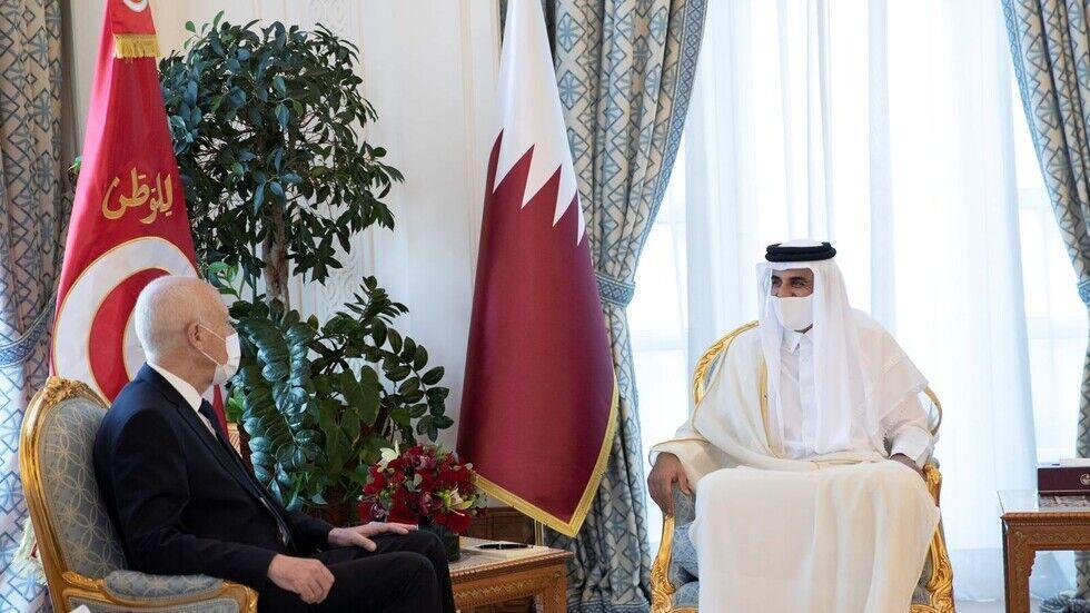 خبرنگاران سران قطر و تونس تحولات لیبی را آنالیز کردند