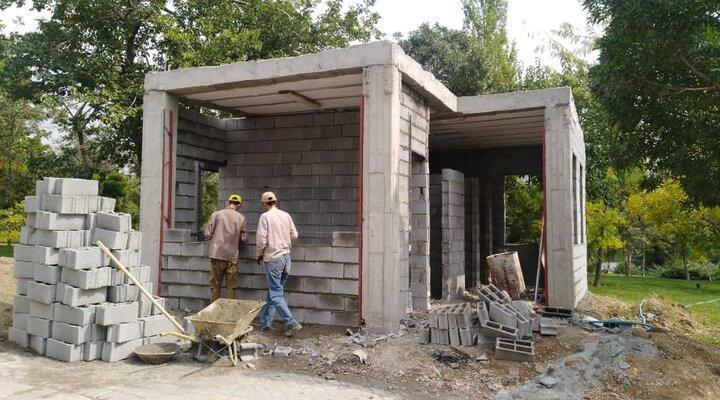 ساخت 20 سرویس بهداشتی در بوستان ها