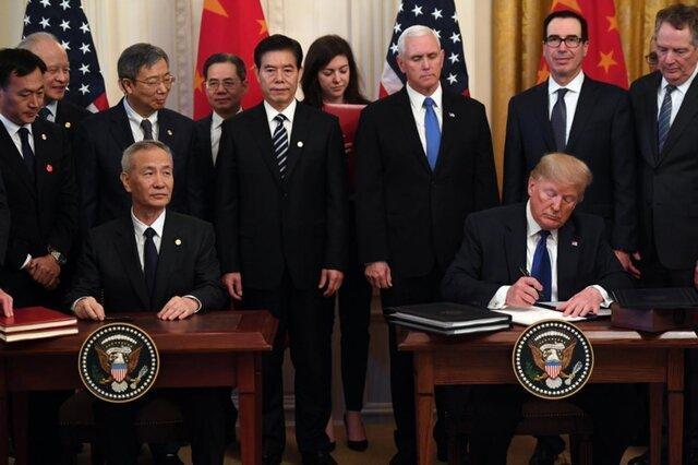 ترامپ سرمایه گذاری در ارتش چین را ممنوع نمود