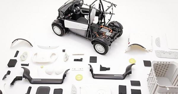 هوندا با فناوری چاپ سه بعدی خودرو الکتریکی ساخت