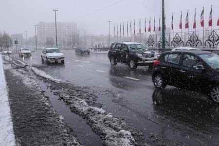 شرایط دمای هوای ایران طی زمستان