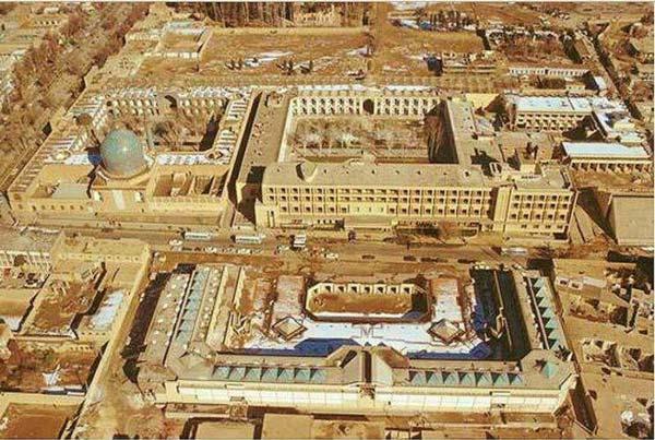 معرفی مسجد چهارباغ اصفهان