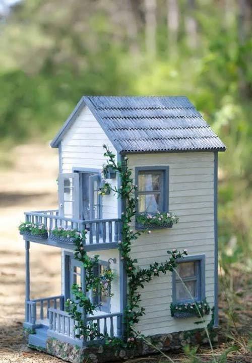 کاردستی خانه با چوب بستنی در مدل های متنوع خانه