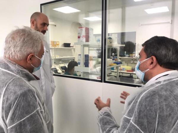 خبرنگاران هیات وزارت بهداشت ایران از خط فراوری واکسن سازی روسیه بازدید کرد