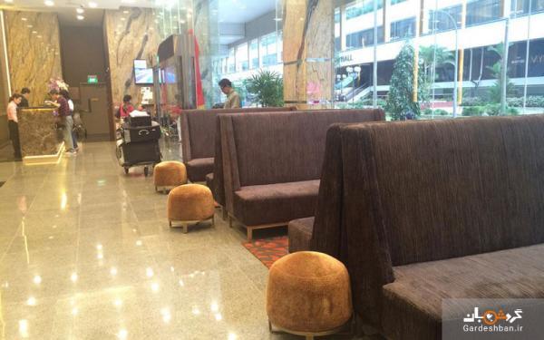 هتل گرند سنترال؛اقامتگاهی مجلل اما مقرون بصرفه در سنگاپور