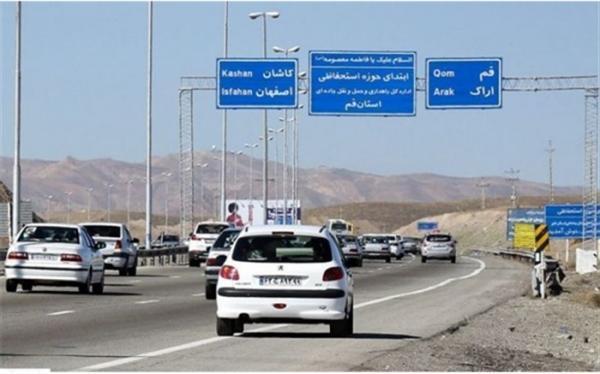ترافیک در 4 محور مواصلاتی کشور