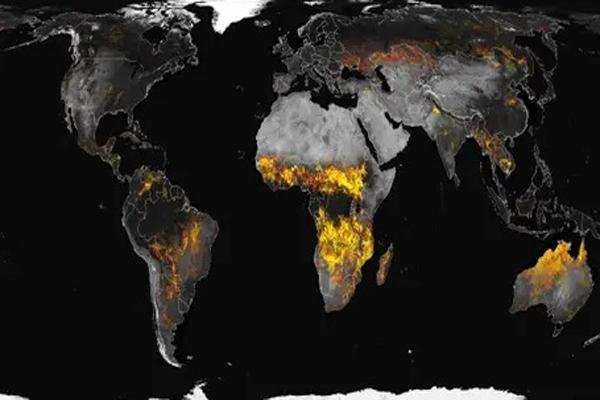 نقشه آتش! (عکس)