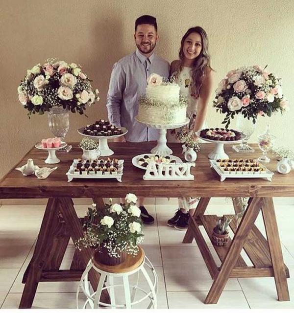 ایده های زیبا و شیک برای تزیین میز سالگرد ازدواج