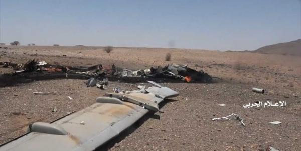 یمن؛ سرنگونی یک هواپیمای جاسوسی ائتلاف سعودی در آسمان الجوف