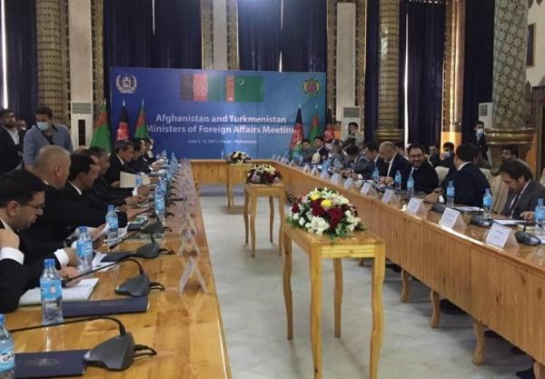 صلح و اقتصاد محور ملاقات وزرای خارجه افغانستان و ترکمنستان