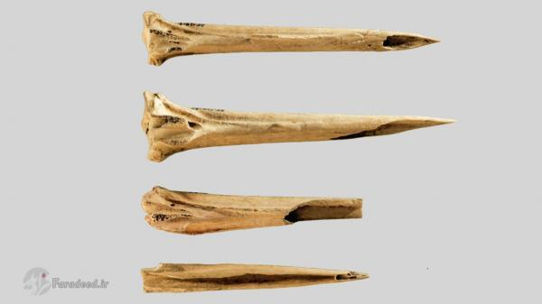 قدیمی ترین ابزارآلات خالکوبی متعلق به بومیان آمریکایی