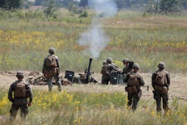 آمریکا و اوکراین رزمایش زمینی برگزار می کنند