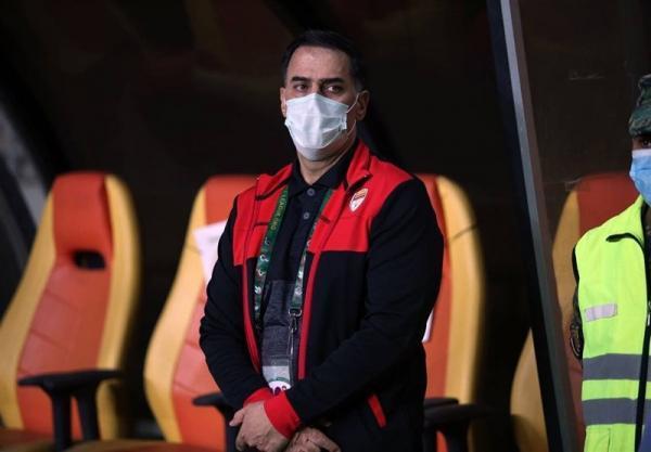 آذری: بازی با پرسپولیس کلید موفقیت 5 هفته پایانی فولاد است، حاضر نیستیم برای حضور طرفداران ریسک کنیم