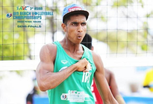 فینالیست شدن والیبال ساحلی ایران در مسابقات زیر 19 سال آسیا